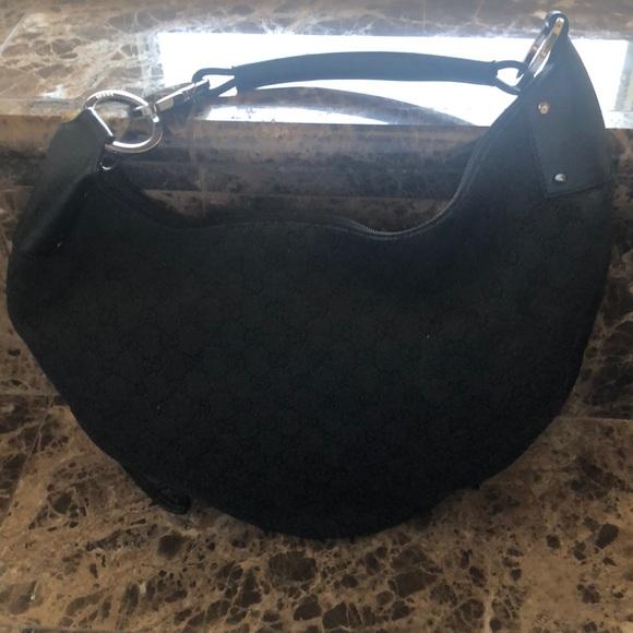 Gucci Handbags - Gucci Half Moon Hobo Bag